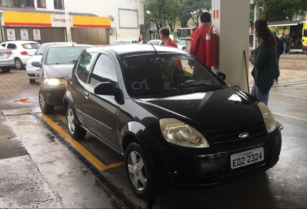 Posto vende gasolina em Maringá a R$ 2,80 cada litro