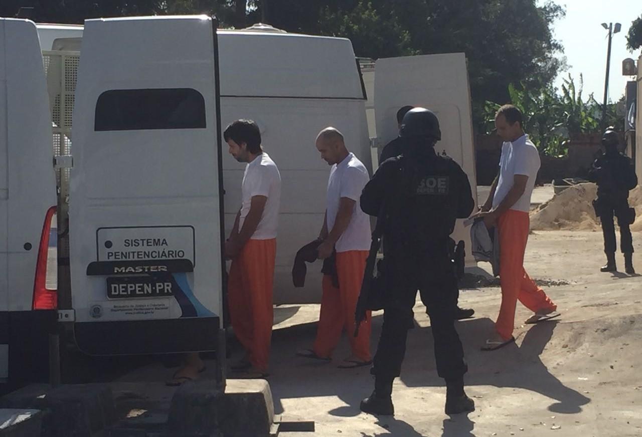 Começa a transferência de 90 presos da 9ª SDP em Maringá