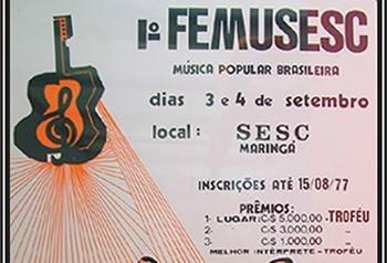 Frambel Carvalho, nome maringaense histórico da música e do futebol