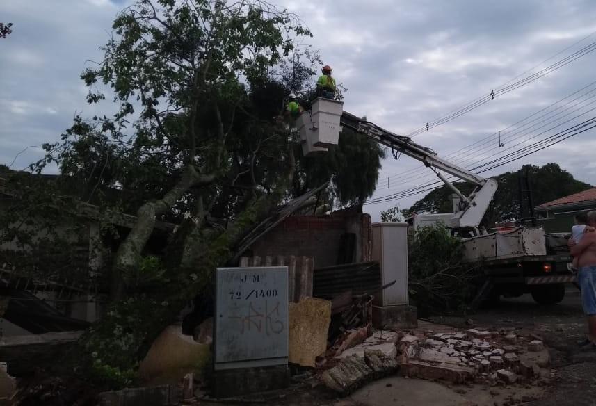 Fim de semana de chuva e ventos fortes em Maringá