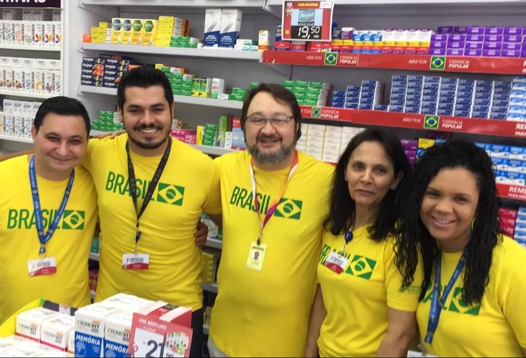 Torcedores apostam em vitória com folga do Brasil