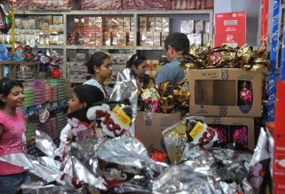 Inadimplência afetou comércio na Páscoa no Brasil