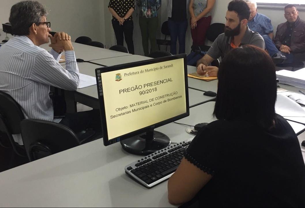 Nova sala de licitações terá transmissão ao vivo