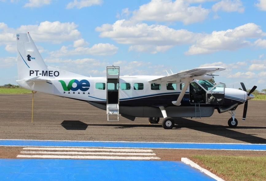Cianorte e Paranavaí passam a ter voos semanais para Curitiba