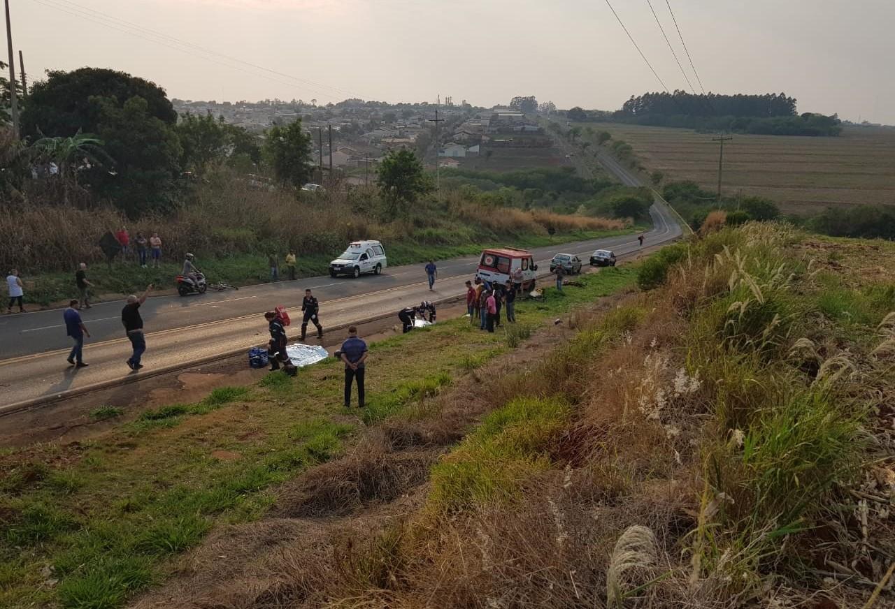 PRE confirma duas mortes em acidente na PR-218
