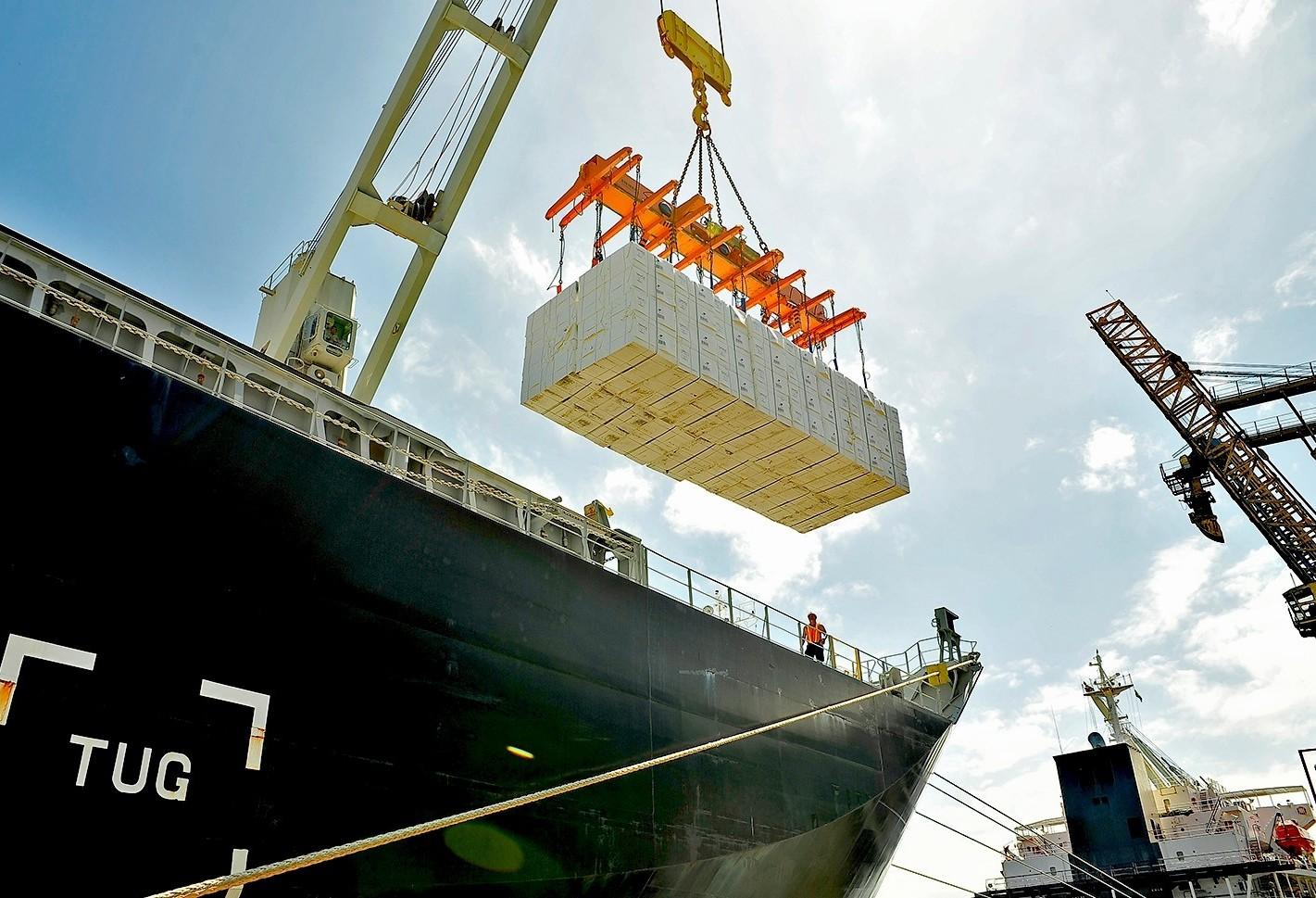Maringá exporta quase US$ 180 milhões em sete meses