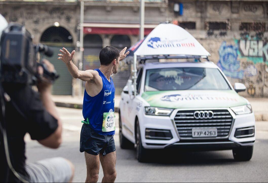 Maringaense  é campeão nacional da corrida que busca a cura para a lesão medular
