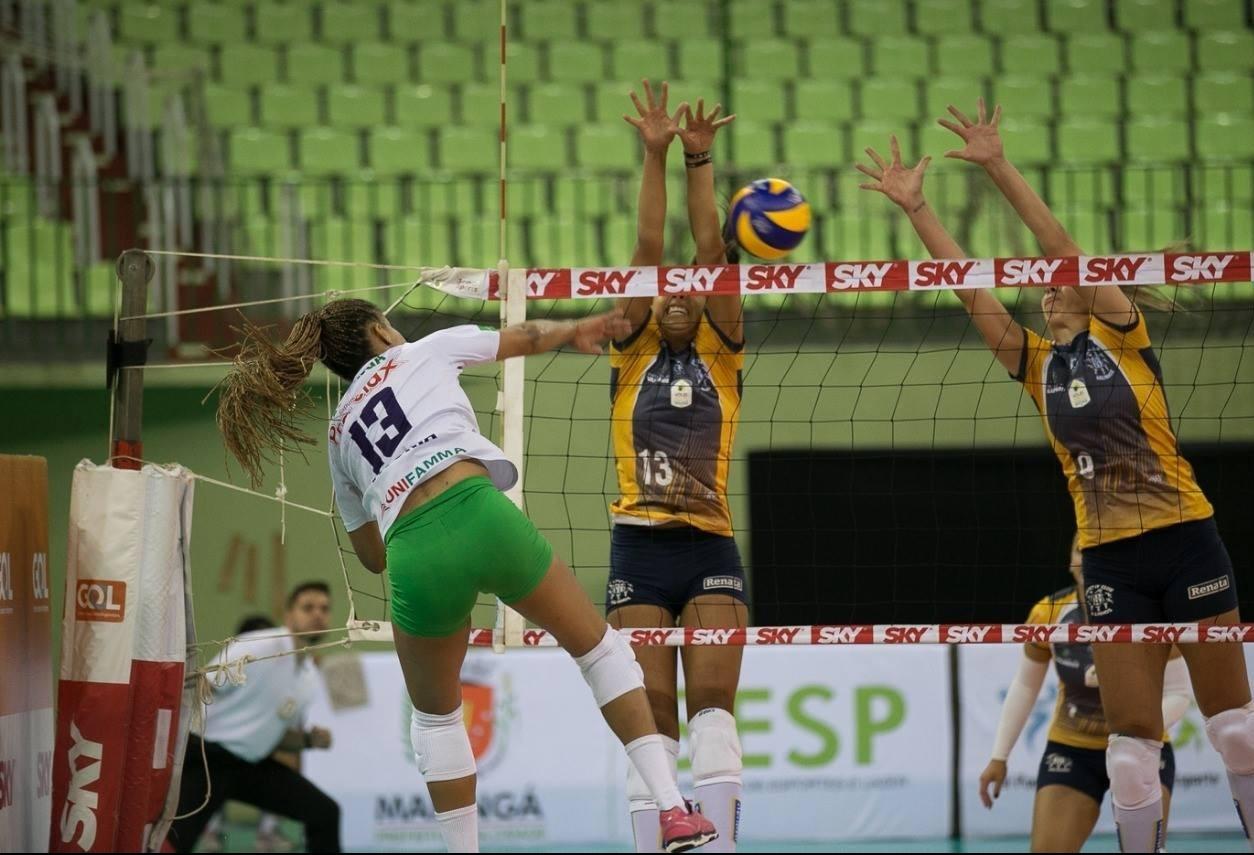 Na terceira colocação, Amavolei enfrenta o Flamengo pela Superliga B