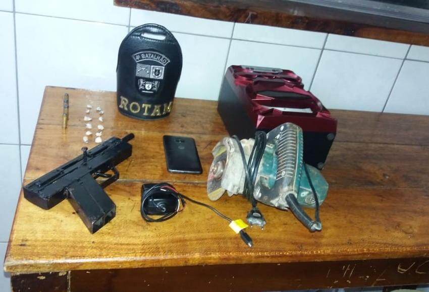 Polícia prende homem e apreende arma de fogo em Mandaguari