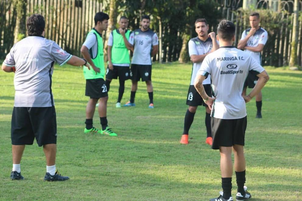 Garantido para a próxima fase da Taça FPF, Maringá FC não sente pressão para terminar primeira fase na liderança