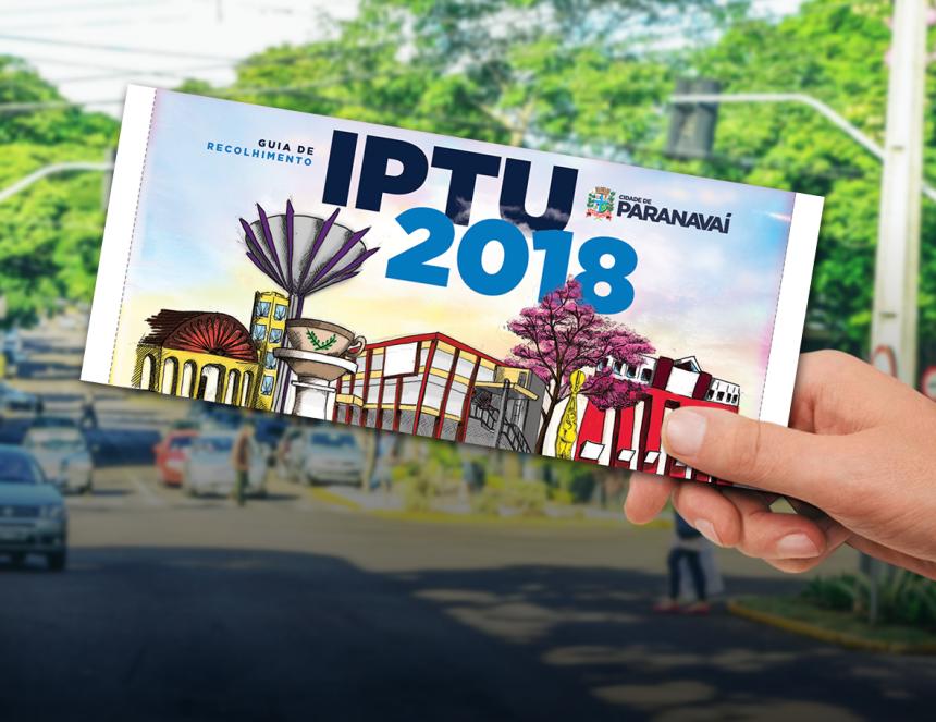 Contribuintes têm até dia 12 para pagar IPTU com desconto