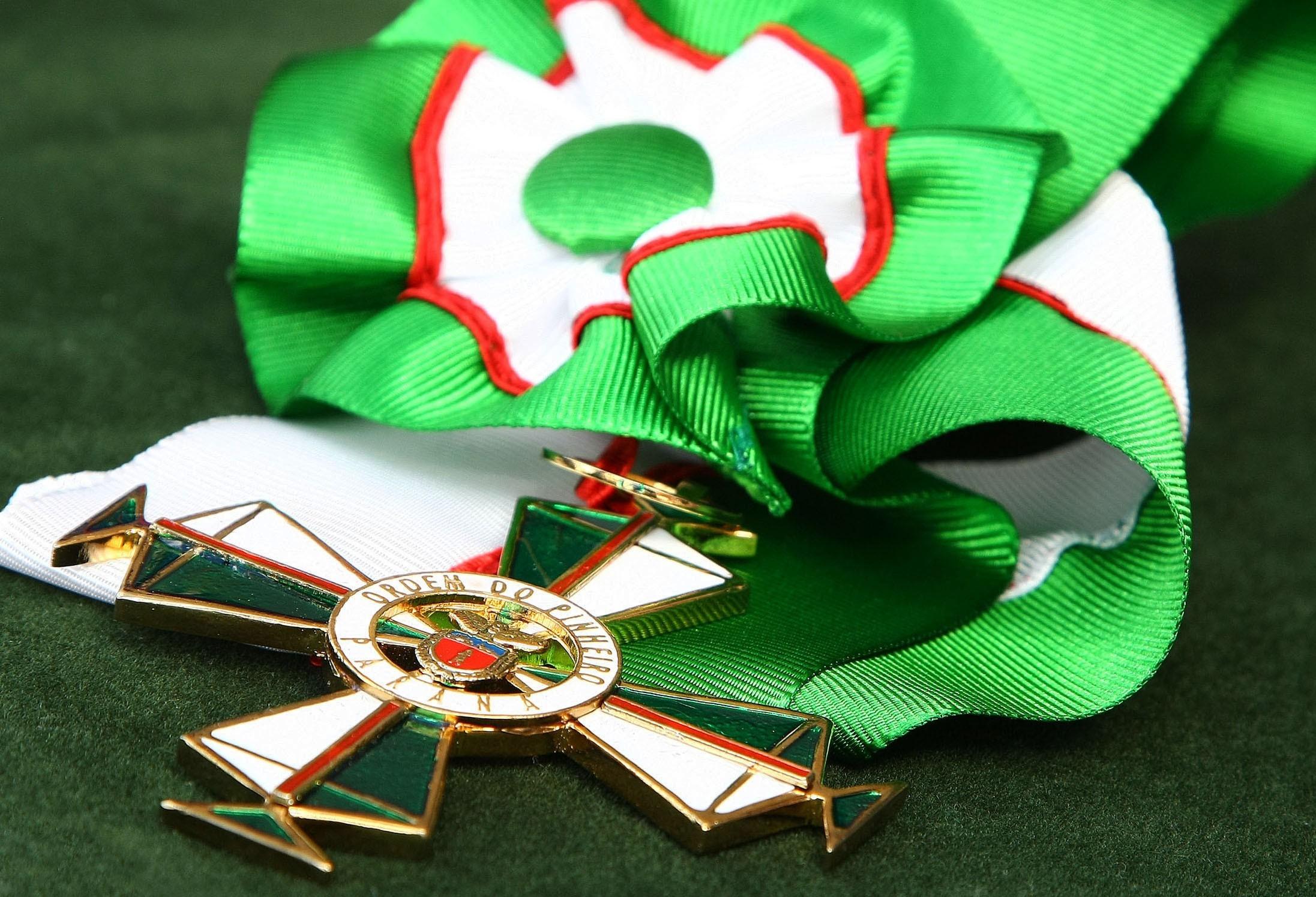 Ordem do Pinheiro será entregue para mais de dez maringaenses
