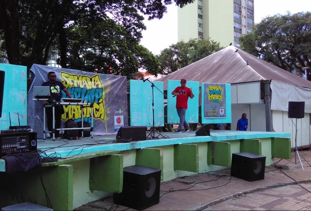 Hip-Hop toma conta da Praça Raposo Tavares