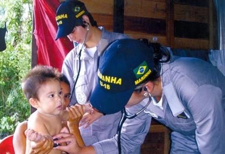 Marinha contrata profissionais da área de saúde