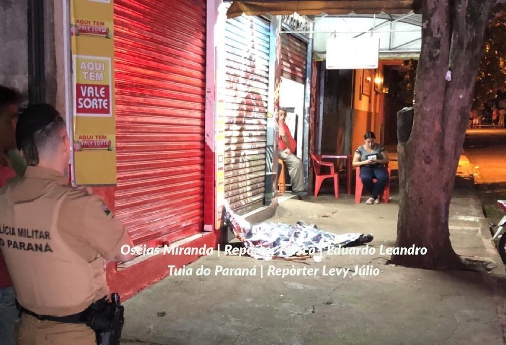 Homem mata namorado da mãe e depois é morto pela PM em Maringá