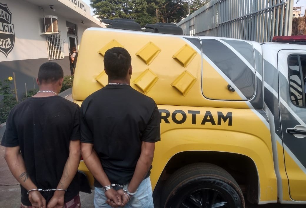 Homem e adolescente são detidos por receptação em Sarandi