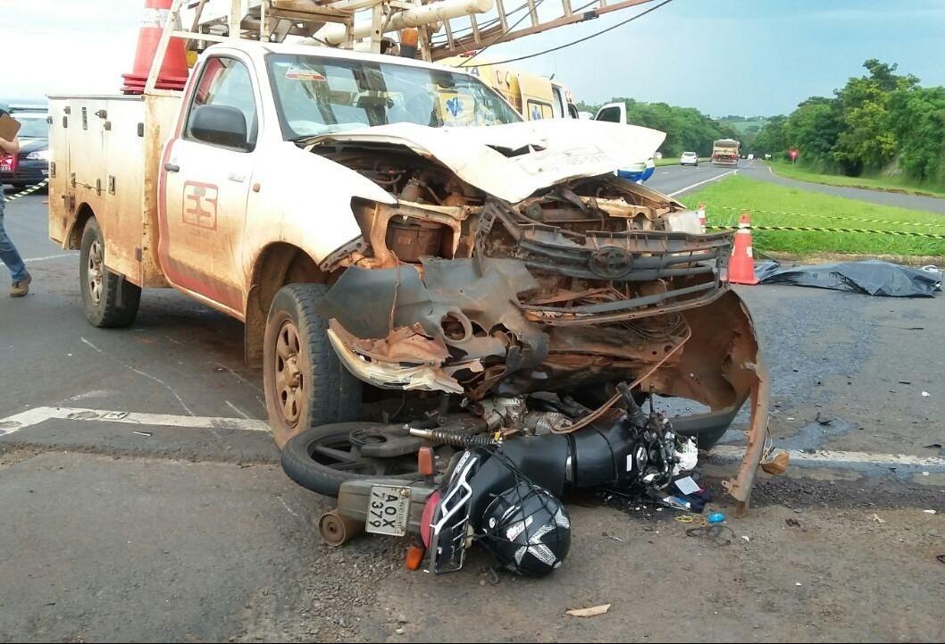 Motociclista morre na BR-376, entre Marialva e Mandaguari