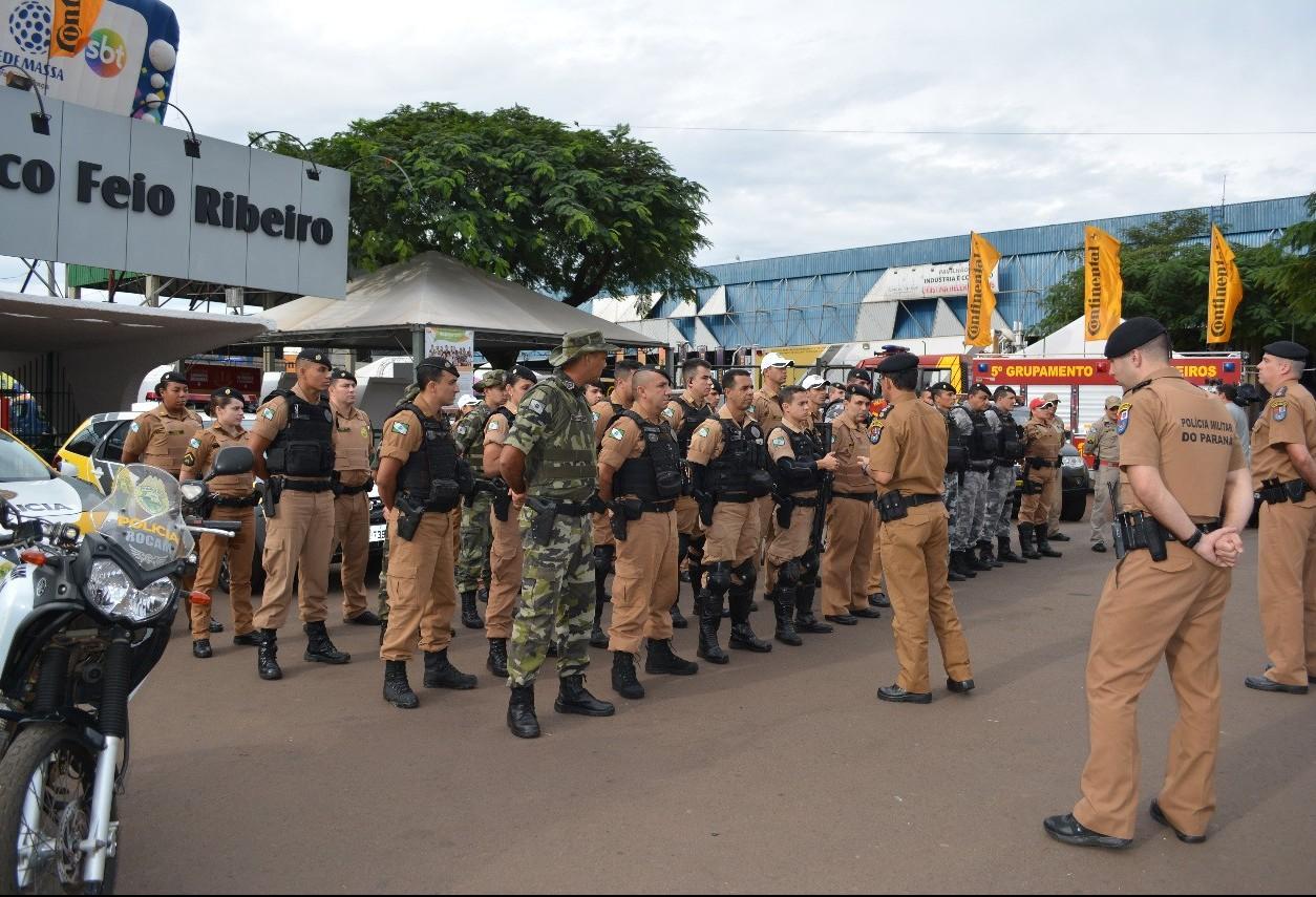 Em Maringá, operação conta com mais de 60 policiais