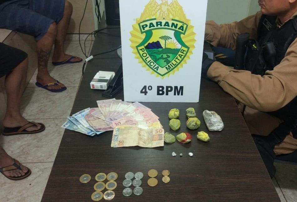 Dois homens são presos por tráfico de drogas na Vila Morangueira