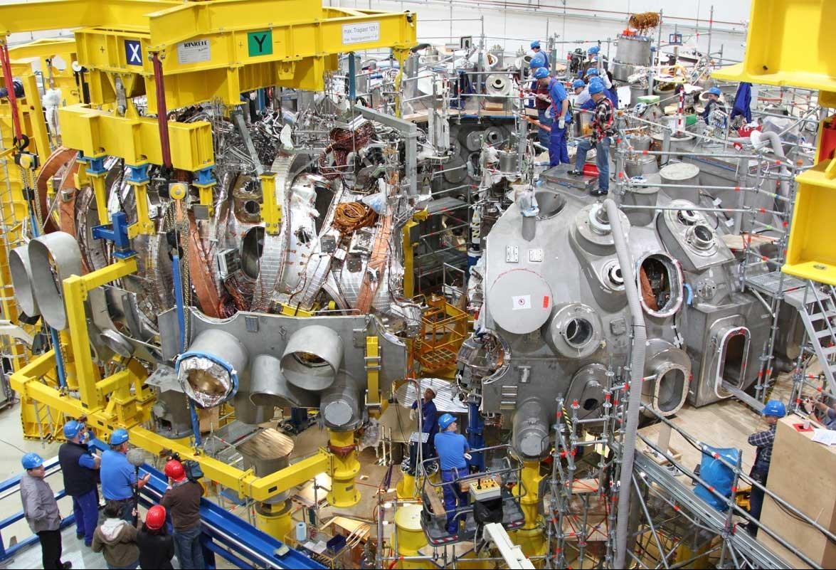 Cientistas investem na criação do Wendelstein 7-X