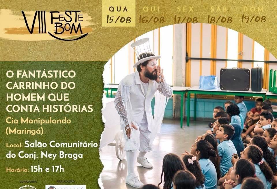 Festival de Bonecos começa nessa quarta-feira (15)