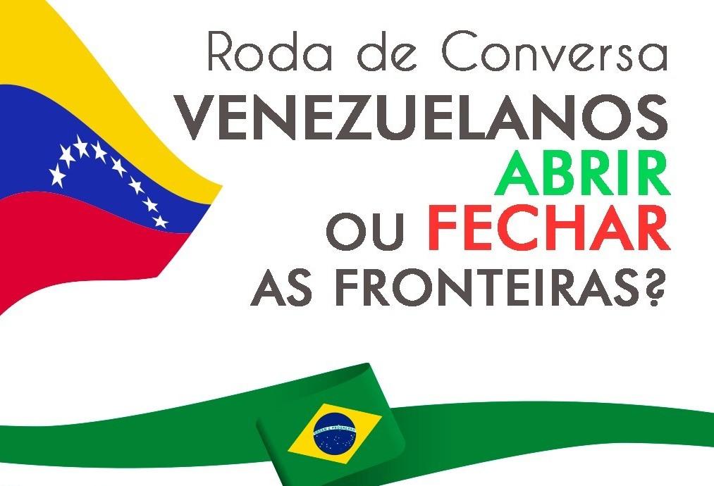 Roda de conversa debate a questão dos refugiados venezuelanos