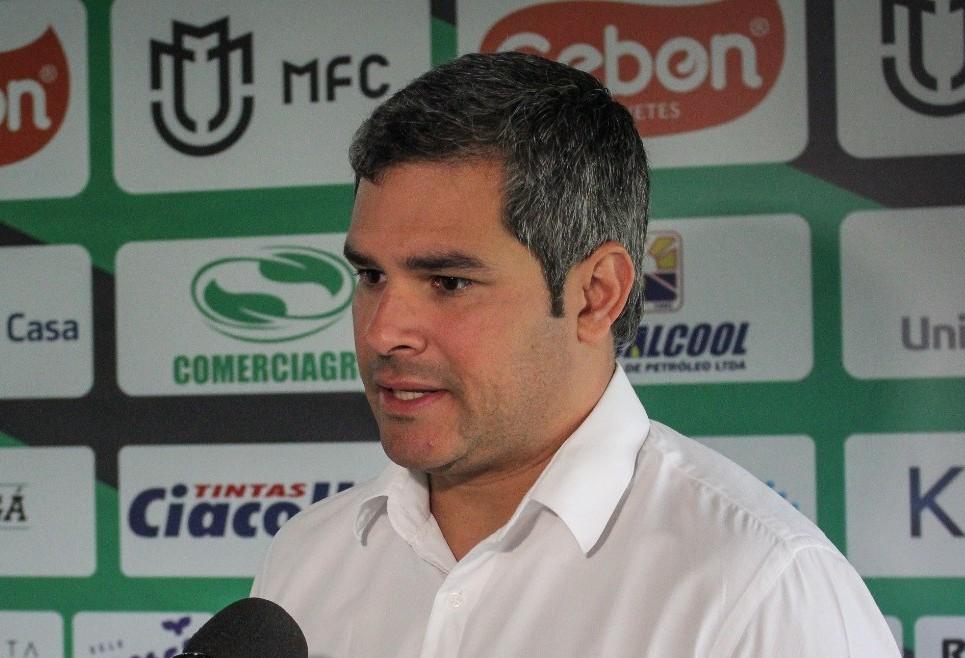 Novo diretor de futebol é apresentado oficialmente no MFC
