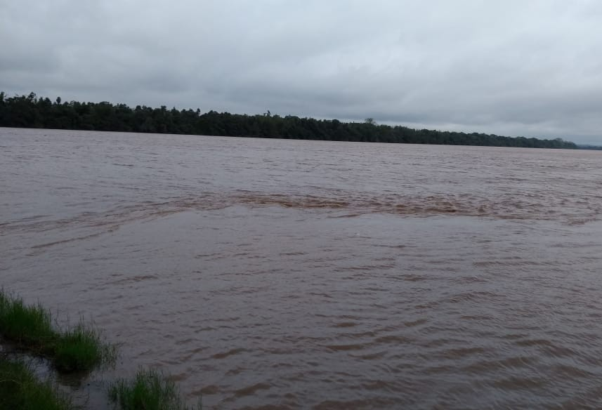 Chuva dá trégua, mas monitoramento do Rio Ivaí continua