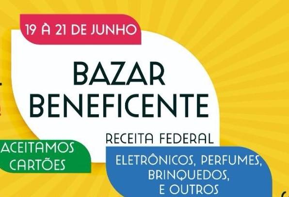 AME realizará bazar com produtos da Receita Federal nessa semana