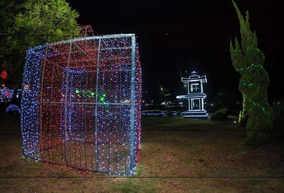 Natal no Parque do Japão é oficialmente lançado