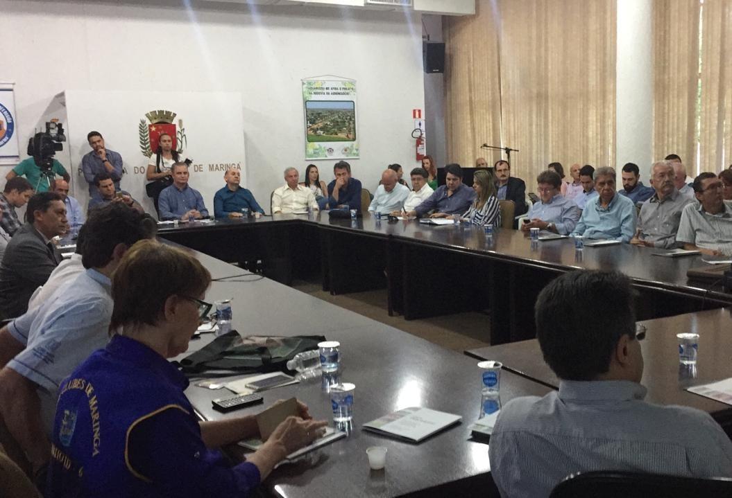 Reunião discute duplicação da BR-376 entre Paranavaí e Taquarussu (MS)