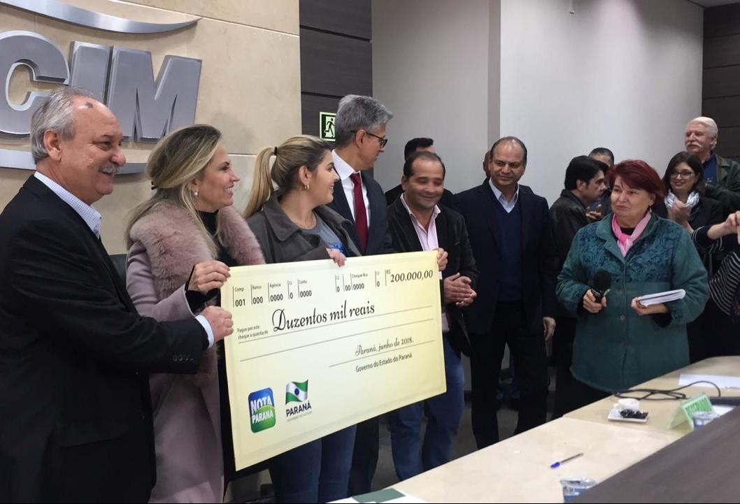 Maringaenses ganham R$ 320 mil reais em prêmios