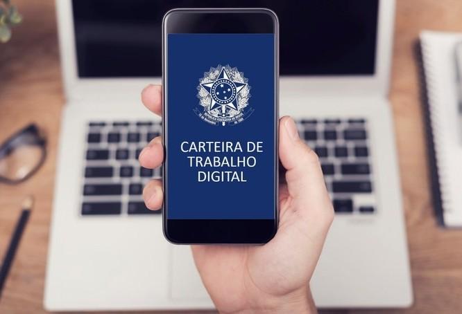 Carteira de Trabalho Digital já substitui documento físico no Brasil