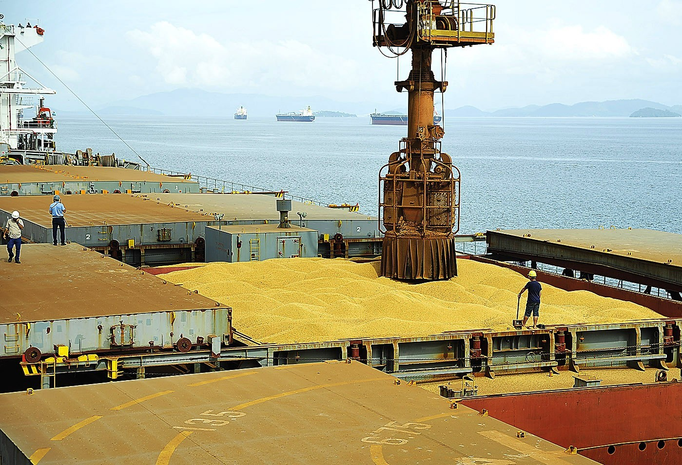 Brasil deve exportar recorde de soja este ano