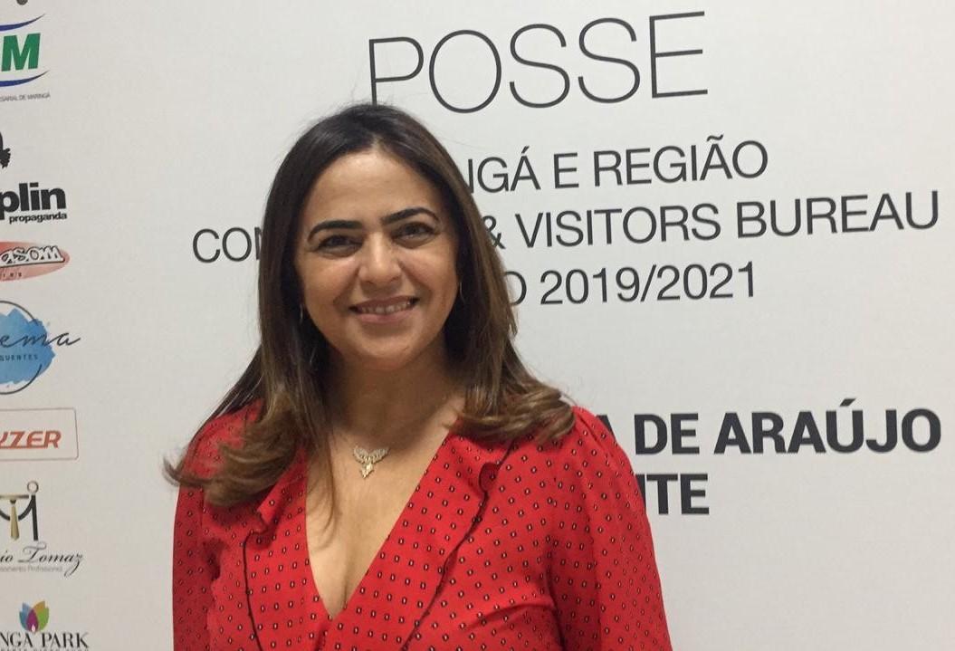 Maria Iraclézia é a primeira mulher na presidência da entidade