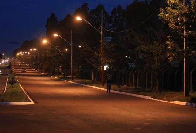 Prefeitura de Maringá quer modernizar iluminação pública