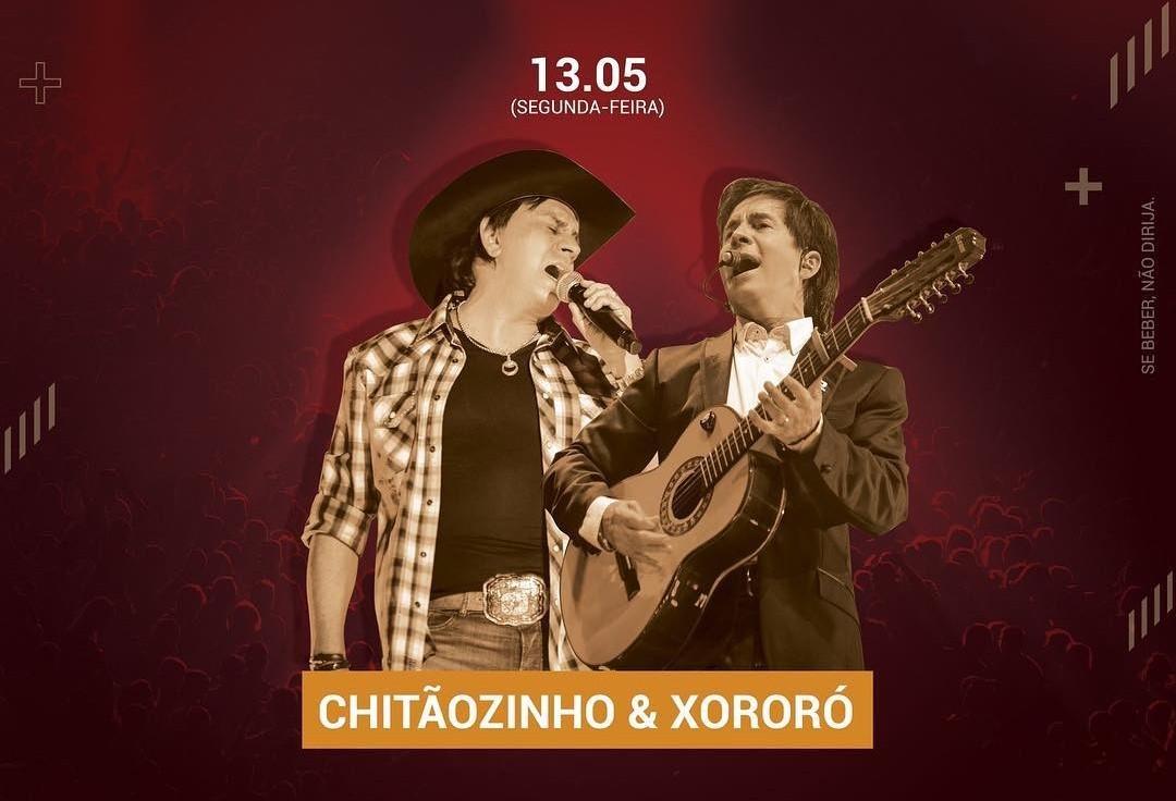 Inicia a troca de alimento para o show de Chitãozinho e Xororó