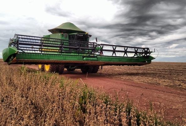 Chuvas dificultam colheitas de grãos