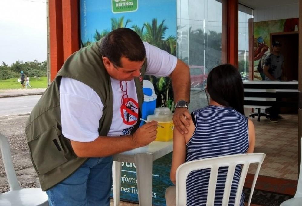 Maringá já imunizou 16% do público-alvo contra dengue