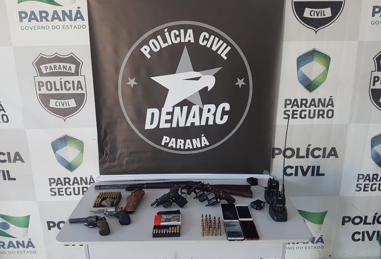Denarc de Maringá prende quatro em Querência do Norte