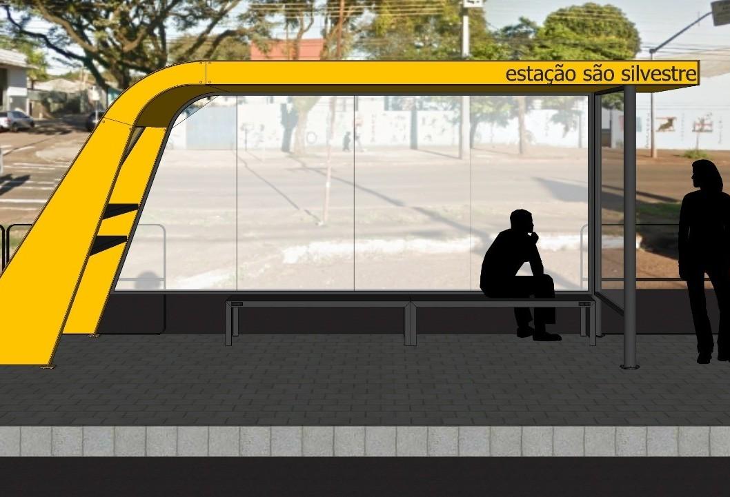 Novos pontos de ônibus serão instalados a partir de setembro