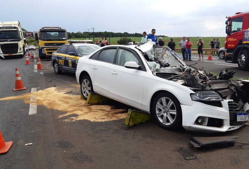 PM de Apucarana morre em acidente na BR-376