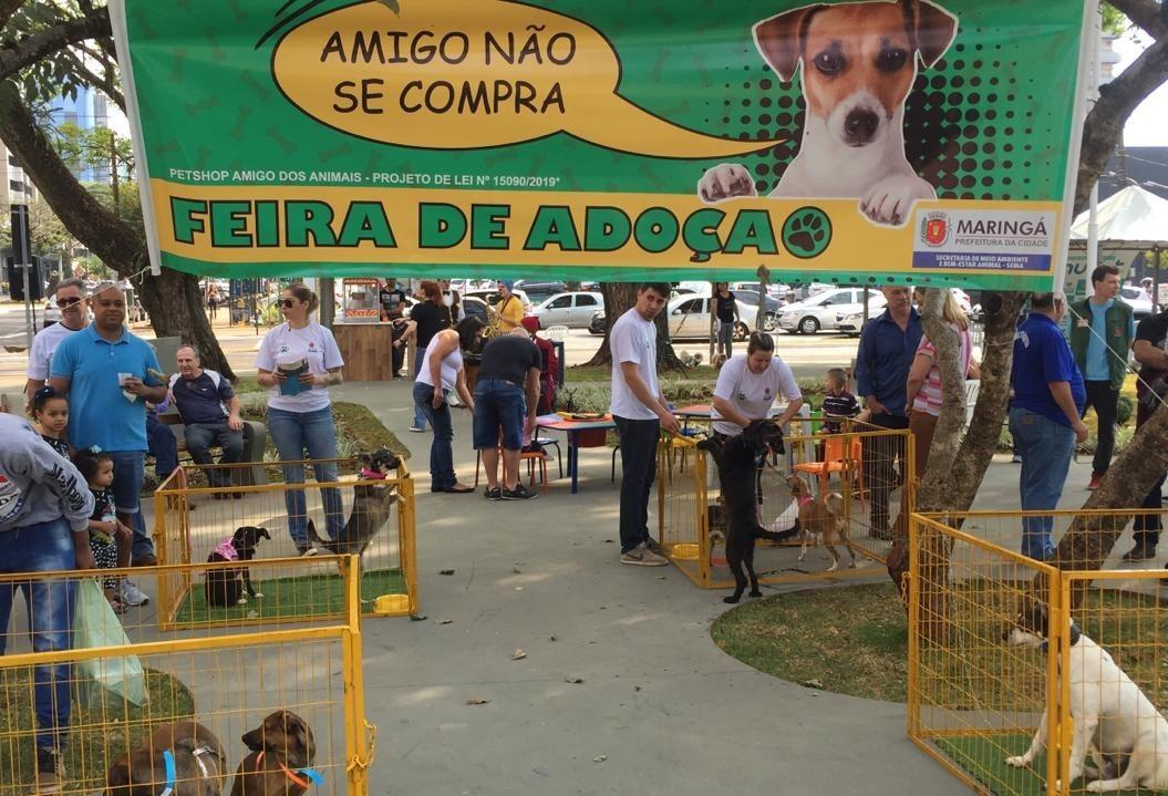 Praça do Bem-Estar Animal é inaugurada em Maringá