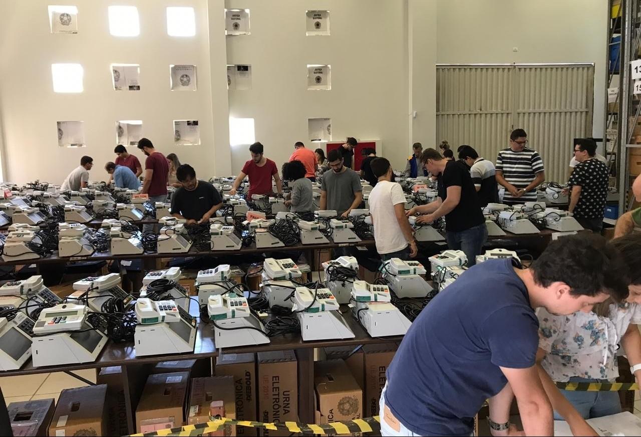 Urnas eletrônicas da zona eleitoral 66 estão prontas para próximo pleito