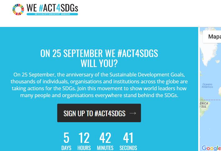 Qualquer pessoa pode contribuir com os ODSs