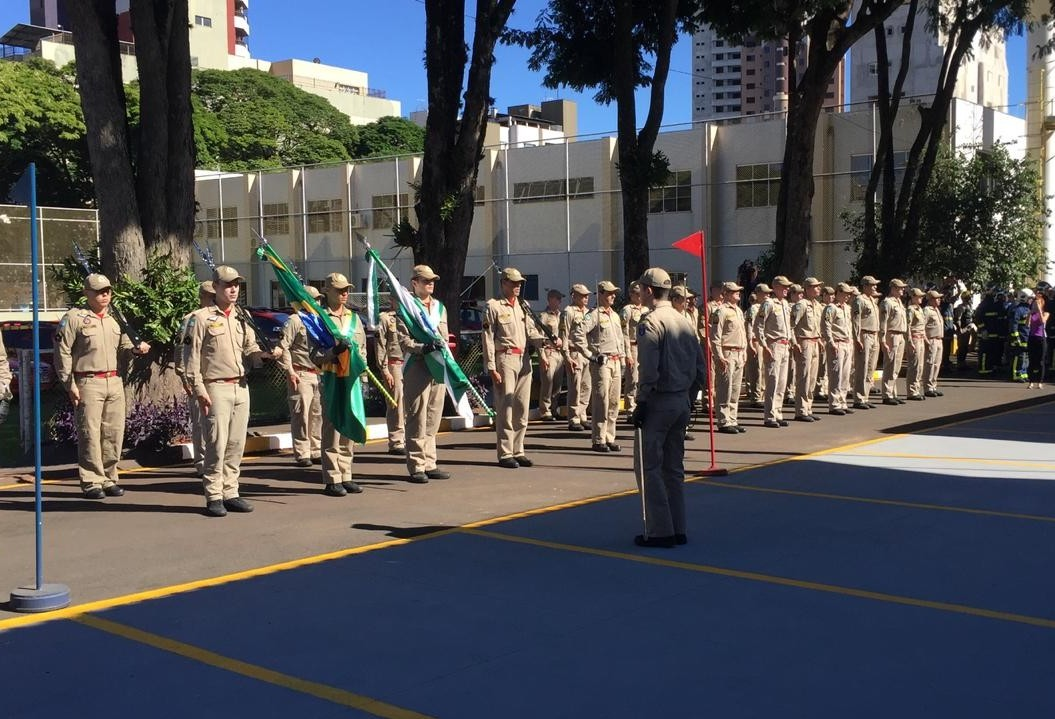 Major Adriano Barbosa é o novo comandante dos Bombeiros de Maringá