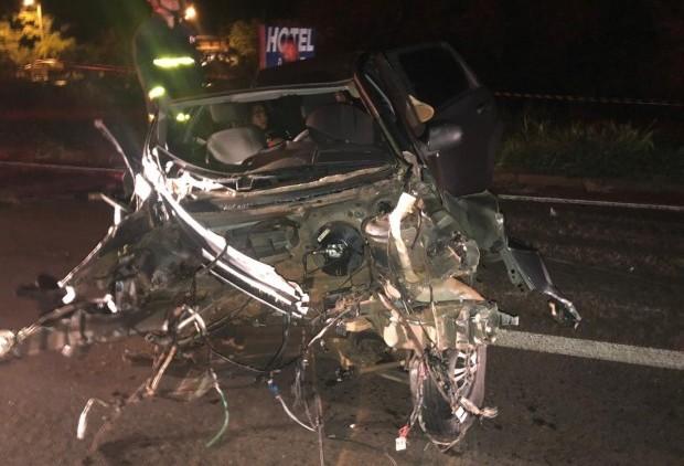 Acidente deixa um morto e quatro feridos na PR-323