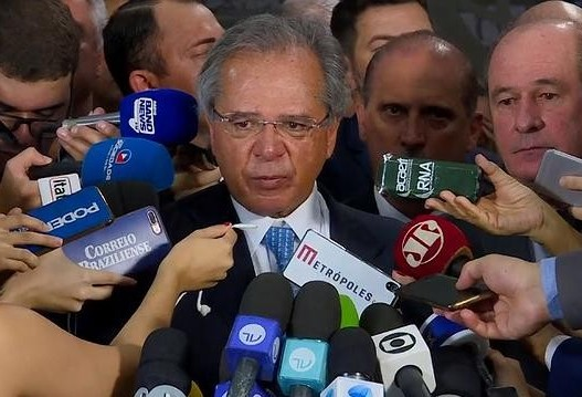 'Sem reforma haveria colapso do regime previdenciário', diz Paulo Guedes