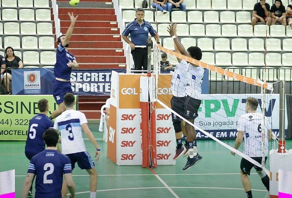 Maringá Vôlei encara Foz do Iguaçu pela semifinal do estadual de vôlei