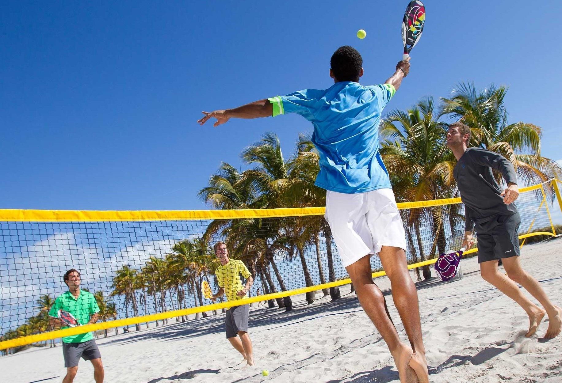 Abertas as inscrições para o beach tennis do Estação Verão